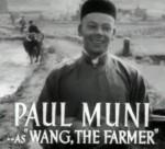 Paul Muni as Wang in The Good Earth (1937)